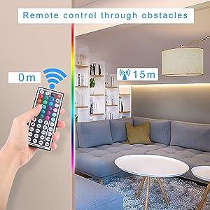 RGB LED Light Strip Remote Controller