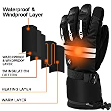 heated motorcycle gloves for men