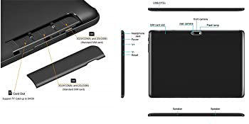 android tablet with sim card slots