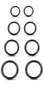 8 pack ear ring