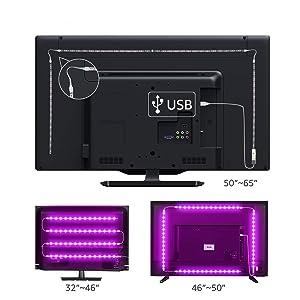 Tira LED 2.2 m, Tiray Ledy Tiras LED Impermeable Tira de LED ...
