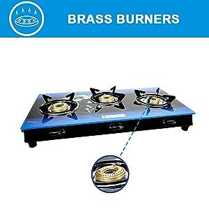 3 burner stainless steel gas stove, 3 burner gas stove, 3 burner stove with induction, gas stove