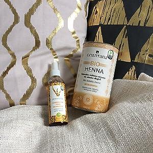 Orientana Bio Henna Für Mittellanges Und Kurzes Haar Transparente Spülung 100 Aus Kräutern 100 Natürliche Haarspülung Für Langes Haar Ohne Haarfarbe Ernährt Und Kräftigt Die Haare 50 G Beauty