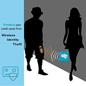 credit card wallet holder aluminium money clip thin rfid blocking akielo stealth powr mens gift box