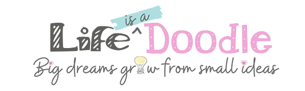 Life is a Doodle Diaries and Journals for Girls