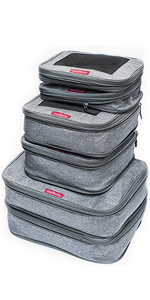 LeanTravel Packing Cubes 6 set