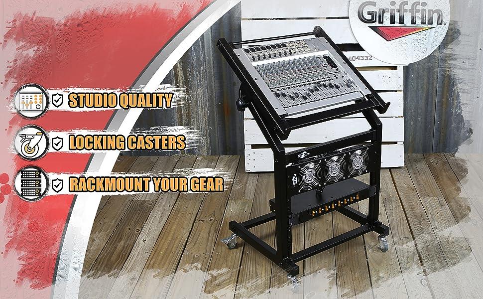 mixer rack mount