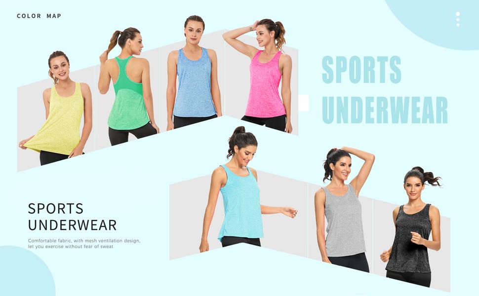 athletic yoga tops