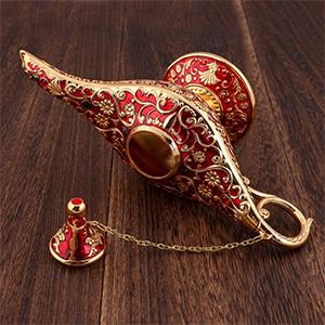 The design of the magic lamp