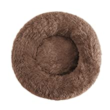 cat self warming bed large cat bed soft cat beds for indoor cats cat donut bed round cat bed