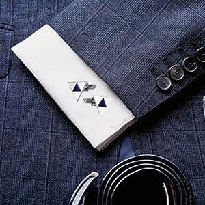 tux cufflinks