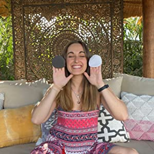 Reusable makeup remover pads for travel