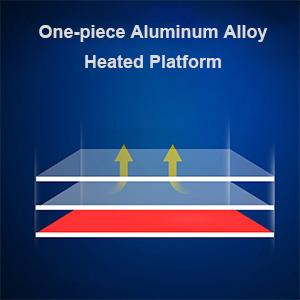 Aluminum Heat and Fast Heat Up Build Platform