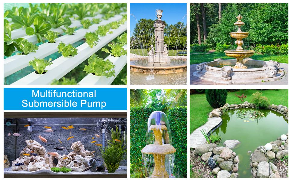 submersible water pump pond pump fountain pump submersible pump aquarium pump water pump
