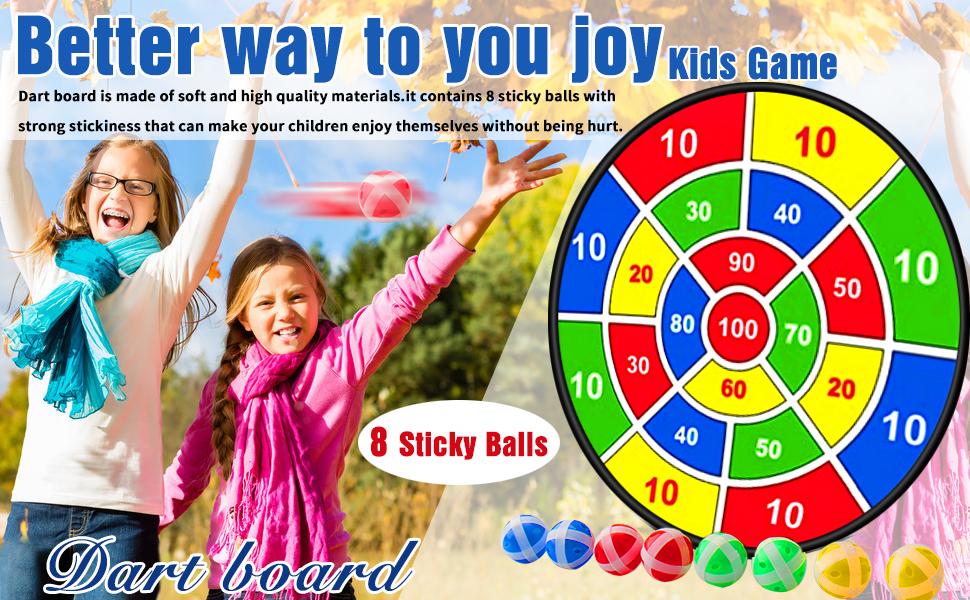 dartbord voor kinderen outdoor spel