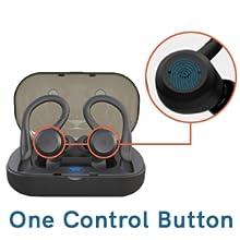 touch controls earphones
