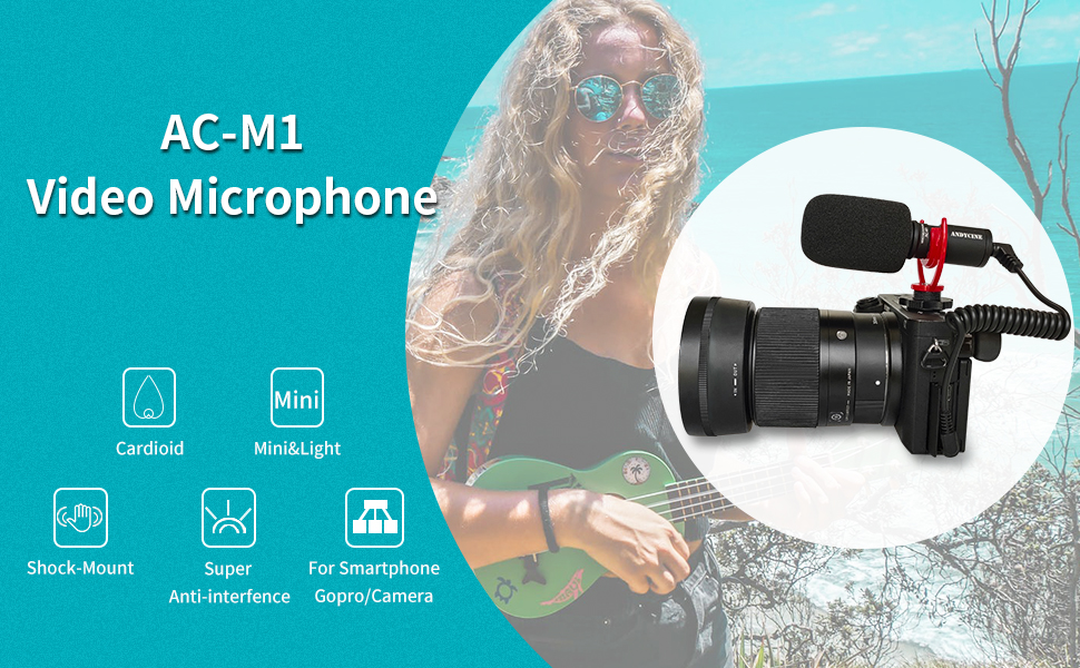 AC-M1 andycine microphone