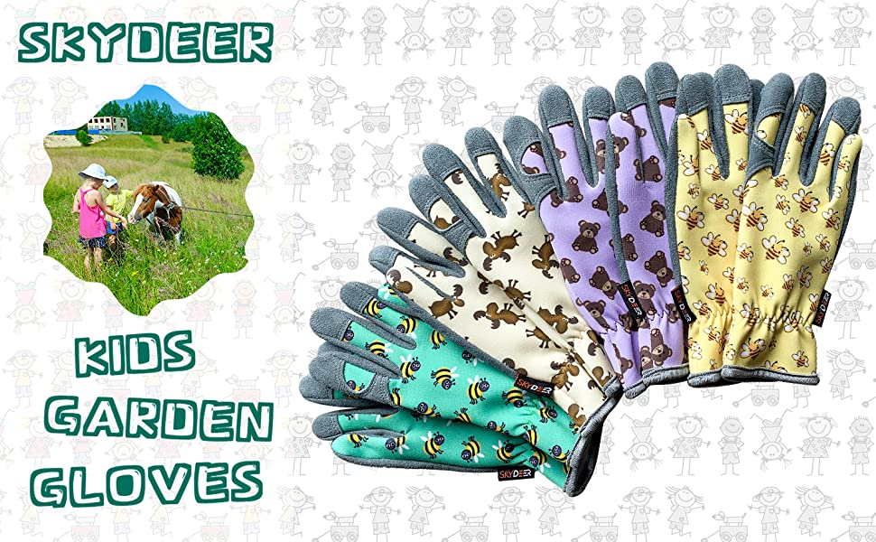 skydeer kids gloves
