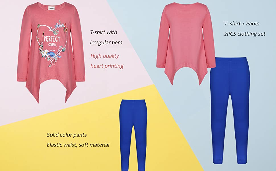 Girl's pants set