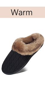 fuzzy house slippers for women