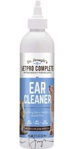 Ear cleaner for dogs and cats, remove odor and provides vitamins