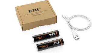 rechargeable batteries package