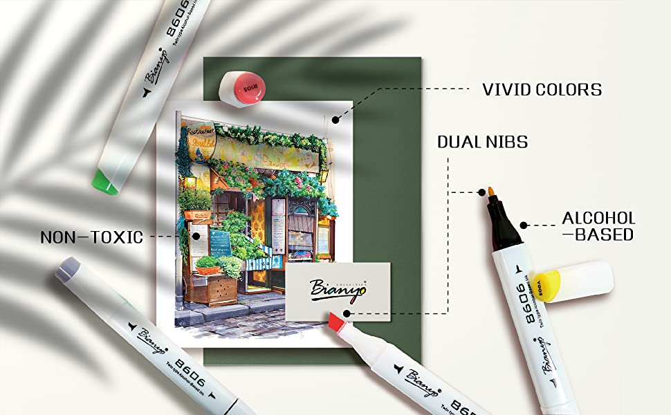copic marker, markers, ohuhu markers, art markers, color markers, bianyo markers, artist markers