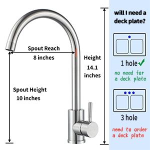 wet bar sink faucet