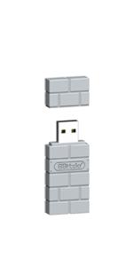 8Bitdo Wireless Bluetooth Adapter-Gray