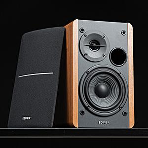 R1280DBs Active Bluetooth Bookshelf Speakers - Wireless Studio Monitor computer Speaker