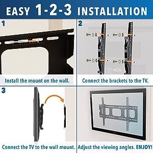 Easy Install TV Mount