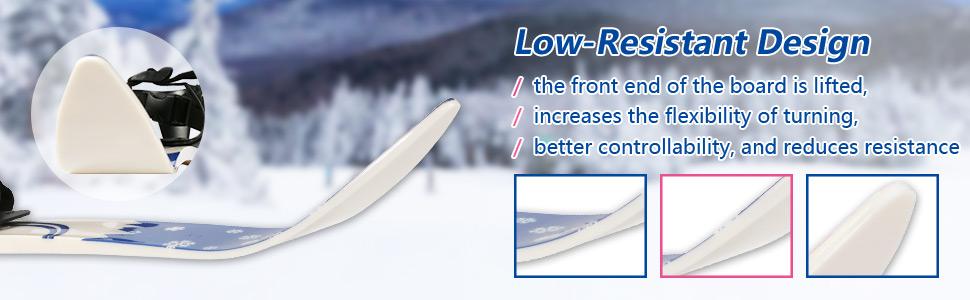 Low-Resistant Design