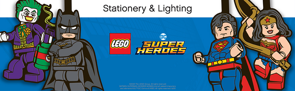 DC Superheroes Lights and Stationery
