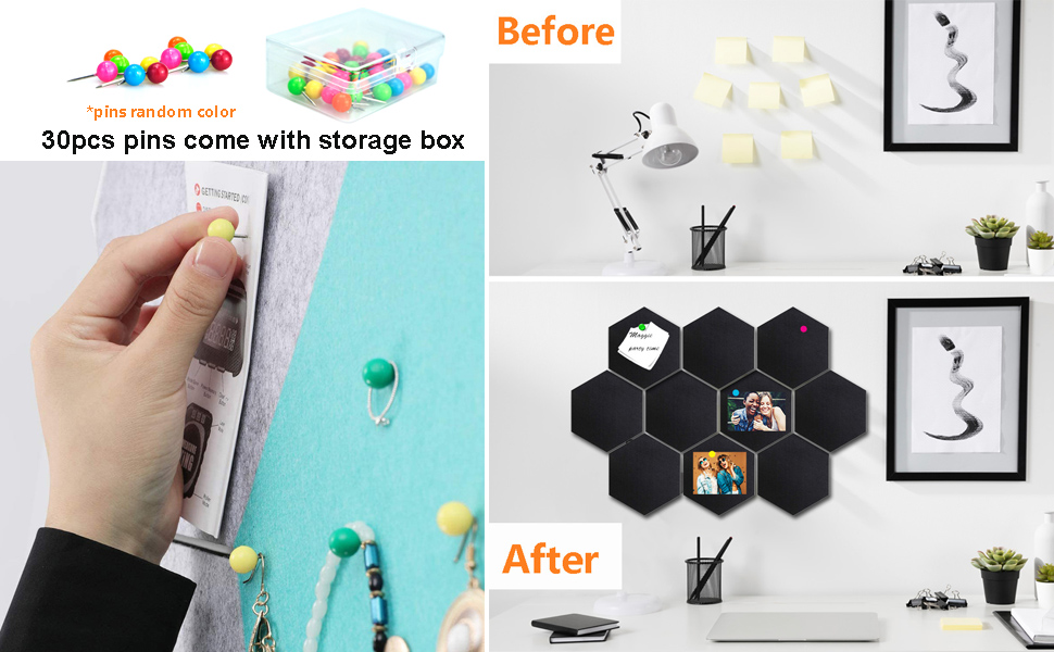 30pcs Pins come with Storage Box
