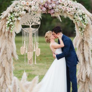 wedding macrame dream catcher