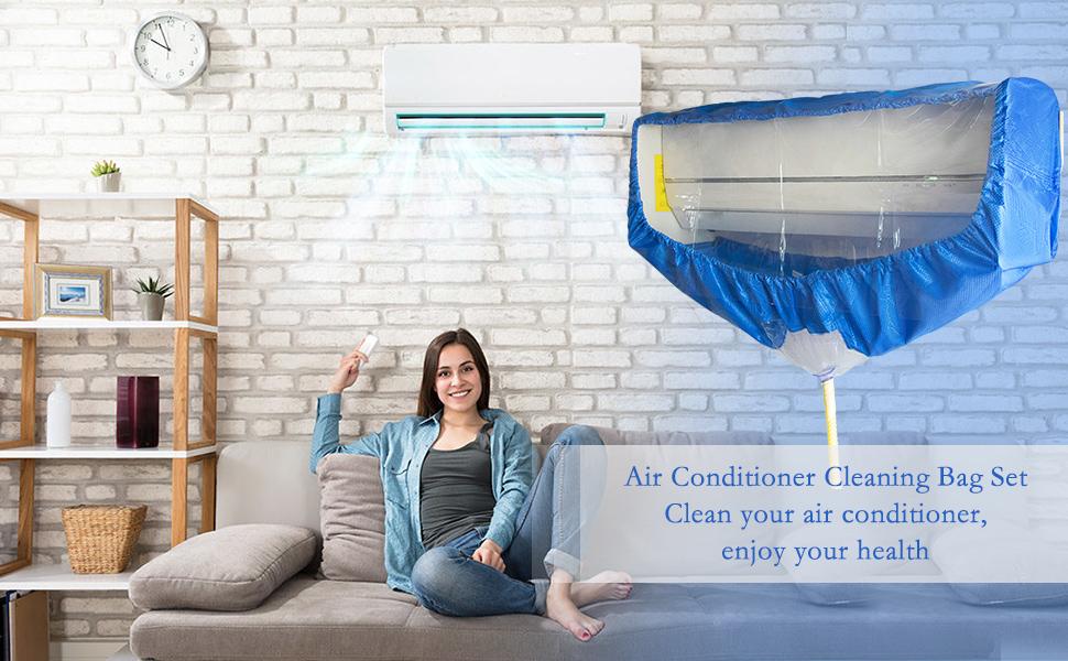 Split AC cleaning