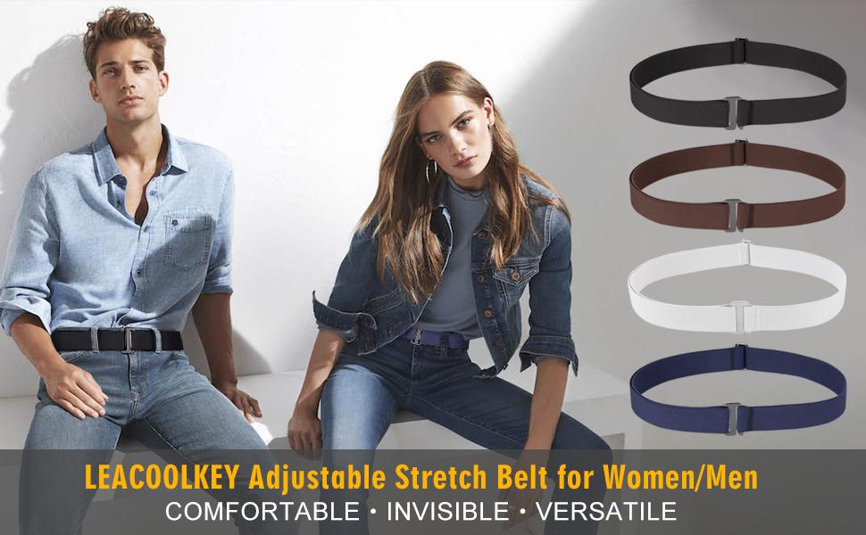 elastic no show belt