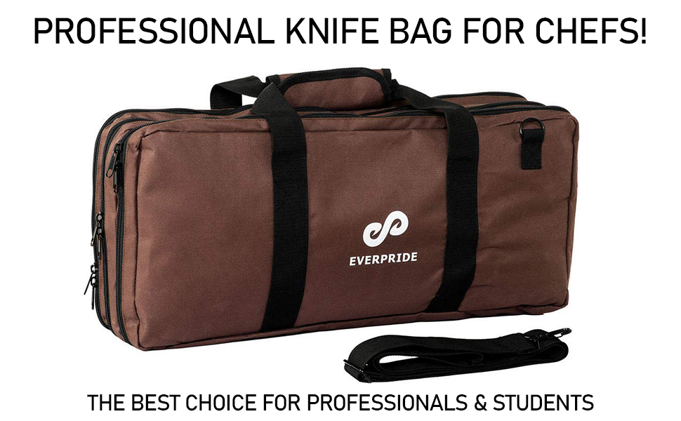 PROFESSIONAL KNIFE BAG FOR CHEFS!