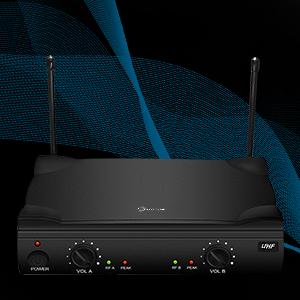 UHF 500-599MHz band transmission
