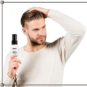 Hair serum for men