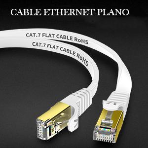 Veetop Cable Ethernet Cat 7 Lan de Red con Conectores Rj45 ...
