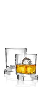 Octagon Whiskey Glasses