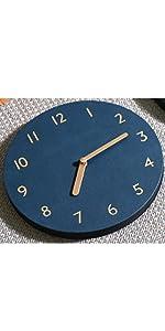 thehaki clock mini basic retro leather
