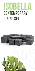 Corner sofa, Washable Covers, dining, stools, outdoor, rattan, Fully Assembled, contemporary, garden
