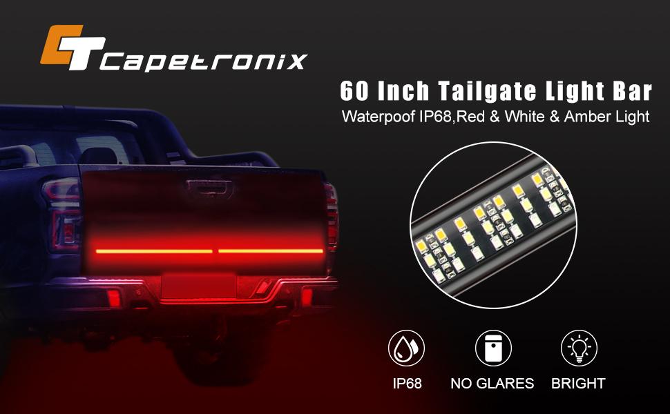 Tailgate light bar 60 inch