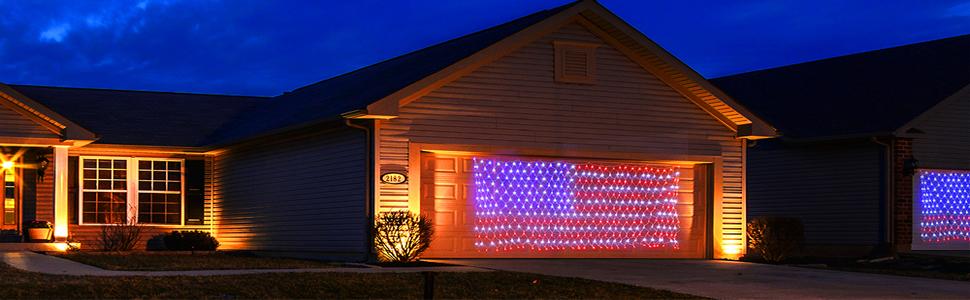 decorative net lights