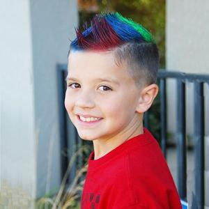 hair chalk comb for boys
