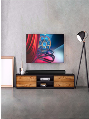 sound bar slim design