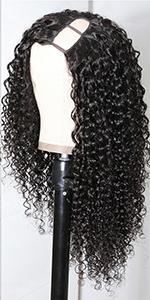 u part curly wig