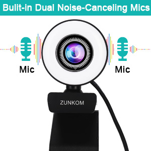 Built-in Dual Noise-canceling Microphone